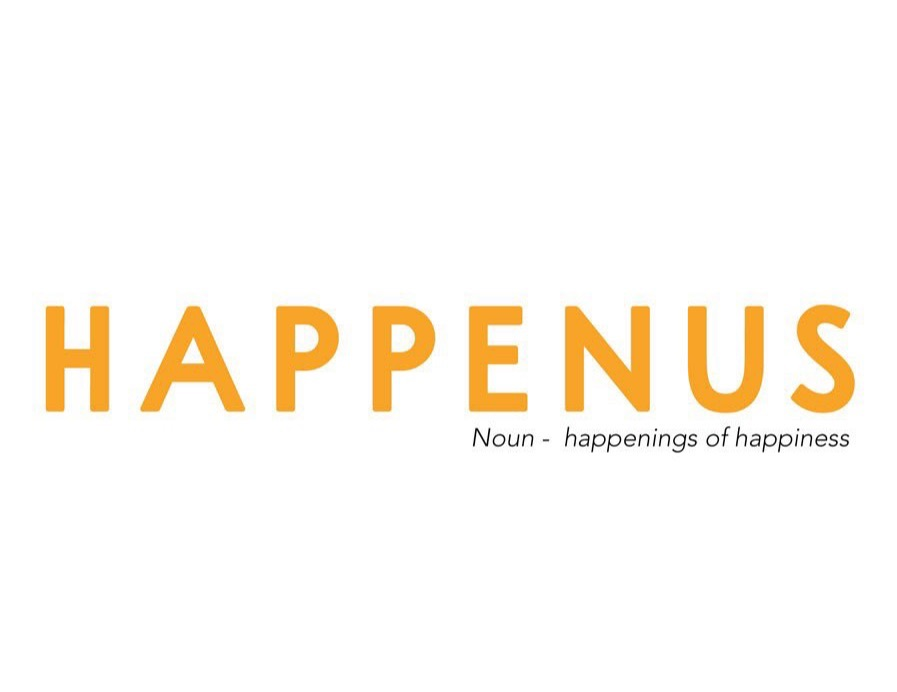 Text graphic for 'Happenus'