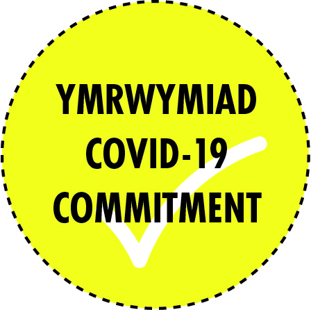 Newport Live Covid 19 Commitment Logo