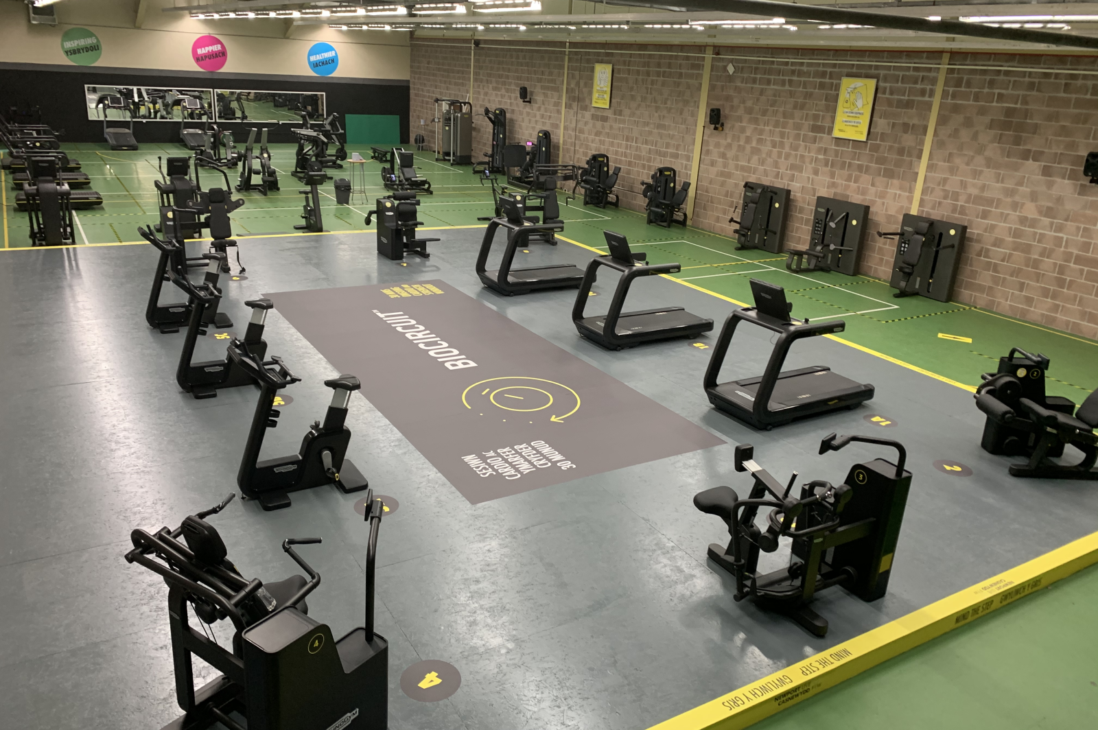 Gym at Regional Pool and Tennis Centre