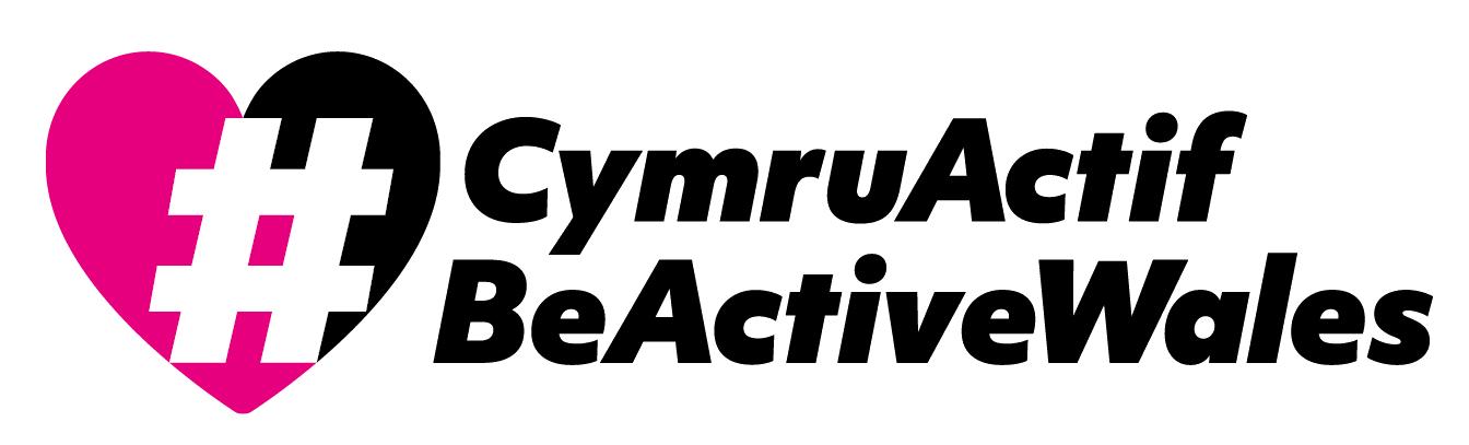 Be Active Wales Logo