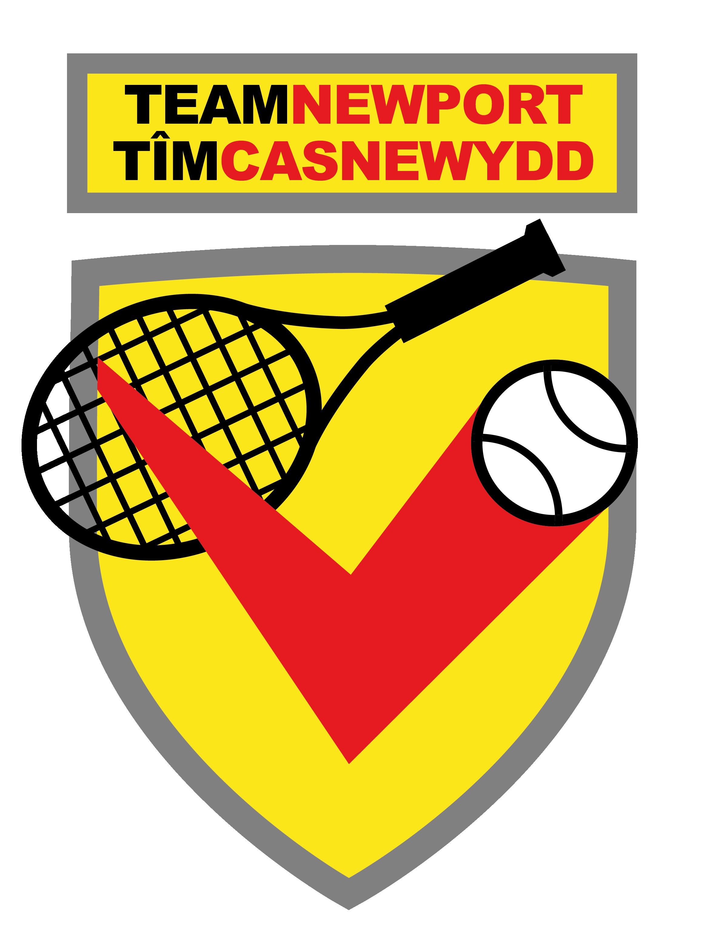 Team Newport Tennis Logo